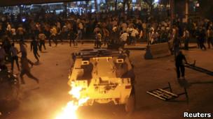 埃及科普特基督徒示威