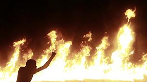 Disturbios en El Cairo