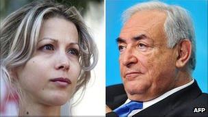法國女作家特裏斯滕•巴儂(Tristane Banon)指責卡恩8年前試圖強奸她