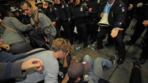 احتجاجات تايمز سكوير