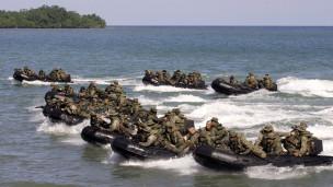 美国菲律宾联合军演