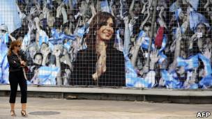 Afiche de Cristina Fernández