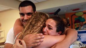 Amigos de Gilad Shalit celebran su libertad