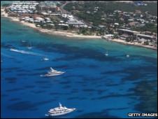 加勒比海上的科曼群岛(Cayman islands)