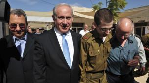 Ghilad Shalit awasili Israel