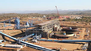 Construção em Maputo, Moçambique
