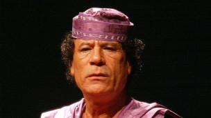 利比亚前领导人卡扎菲
