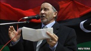 Ông Mustafa Mohammed Abdul Jalil