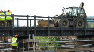 Puente de plásticos reciclados Foto gentileza Vertech Ltd