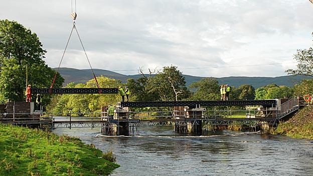Puente fabricado con residuos plásticos Foto gentileza Vertech Ltd