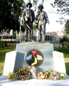 Australian Vietnamese War Memorial ở Queesnland, Australia