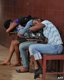 Chicas dormidas