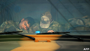 Soldados dormidos