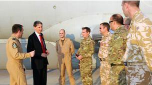 وزير الدفاع البريطاني فيليب هاموند