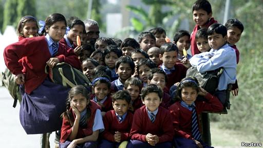 Niños indios