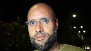 利比亚前领袖卡扎菲之子赛义夫