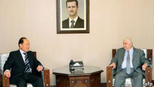 吴思科会见叙利亚官员