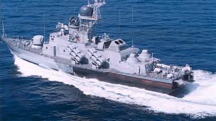 Tàu chiến Molnya của Nga