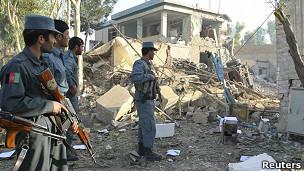 انفجار انتحاری در قندهار