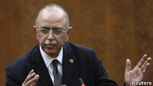 عبدالرحیم عبد الحفیظ الکیب، رئیس دولت انتقالی لیبی