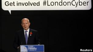 William Hague, canciller británico