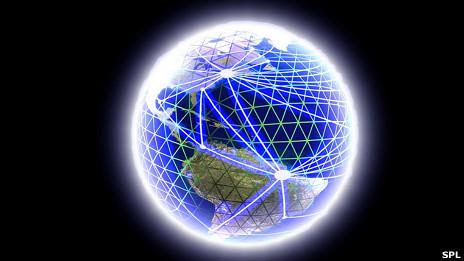 El planeta interconectado por internet