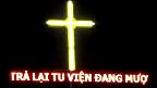 Biển điện tử trên nóc Nhà thờ Thái Hà