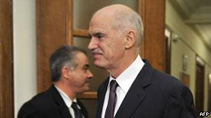 希腊总理帕潘德里欧(01/11/2011)