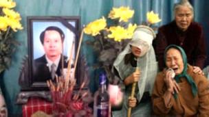 Đám tang ông Trịnh Xuân Tùng