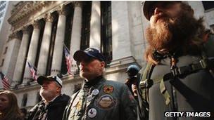 Veteranos de guerra em NY (Getty)