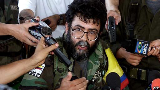 alfonso cano, fallecido líder de las FARC