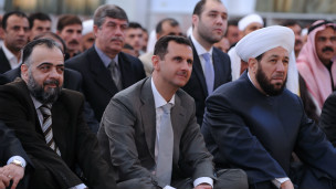 Presidente de Siria Bashar-al-Assad