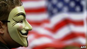 Manifestante do 'Ocupe Wall Street' em NY (AFP)