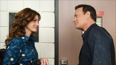 Hanks y Roberts en Larry Crowne