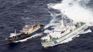 Tuần duyên Nhật truy đuổi tàu cá Trung Quốc gần Senkaku