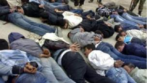 بازداشت شدگان