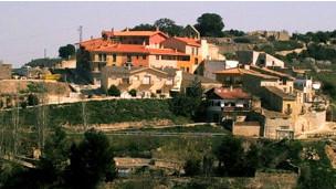 Pueblo de Cabestrany, en España