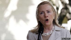 美国国务卿希拉里·克林顿(10/11/2011)