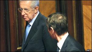 Mario Monti. Foto: AFP