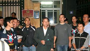 Người biểu tình bị câu lưu hôm 11/11/2011