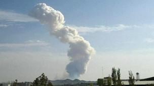 دود انفجار