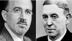 Walter Freeman e Egas Moniz.