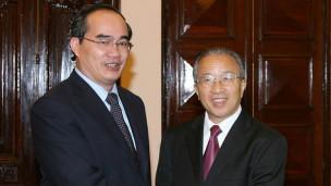 Phó Thủ tướng Nguyễn Thiện Nhân và ông Đới Bỉnh Quốc