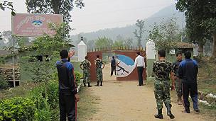 नेपाल में जनमुक्ति सेना का शिविर