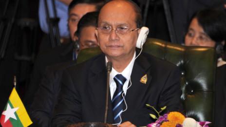 Presiden Burma Thein Sein