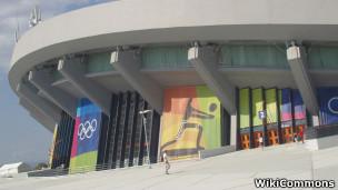 Estádio de vôley do complexo Faliro, WikiCommons