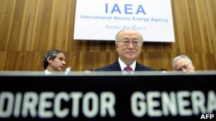 آمانو مدیرکل آژانس بین المللی انرژی اتمی