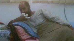 赛义夫·卡扎菲被抓获后