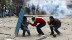 Manifestantes en Cairo