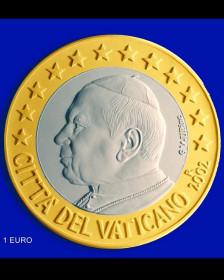 1 евро Ватикана